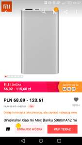 Xiaomi Mi Power 2, 5000mAh