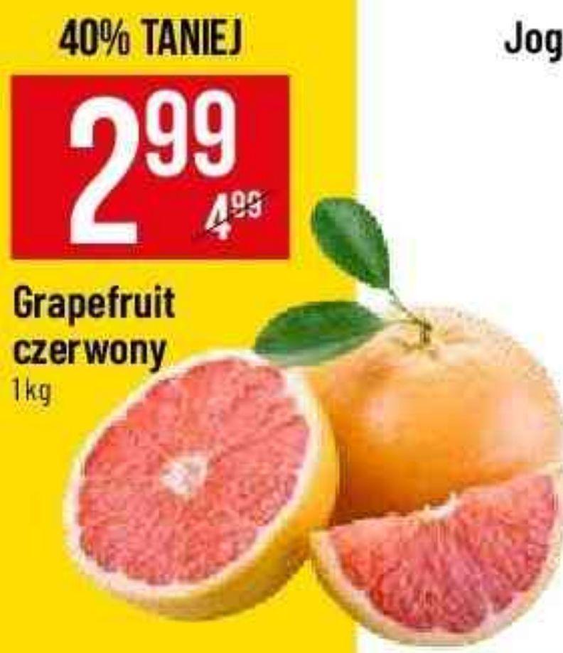 Grepefriut czerwony.  1 kg. POLO MARKET
