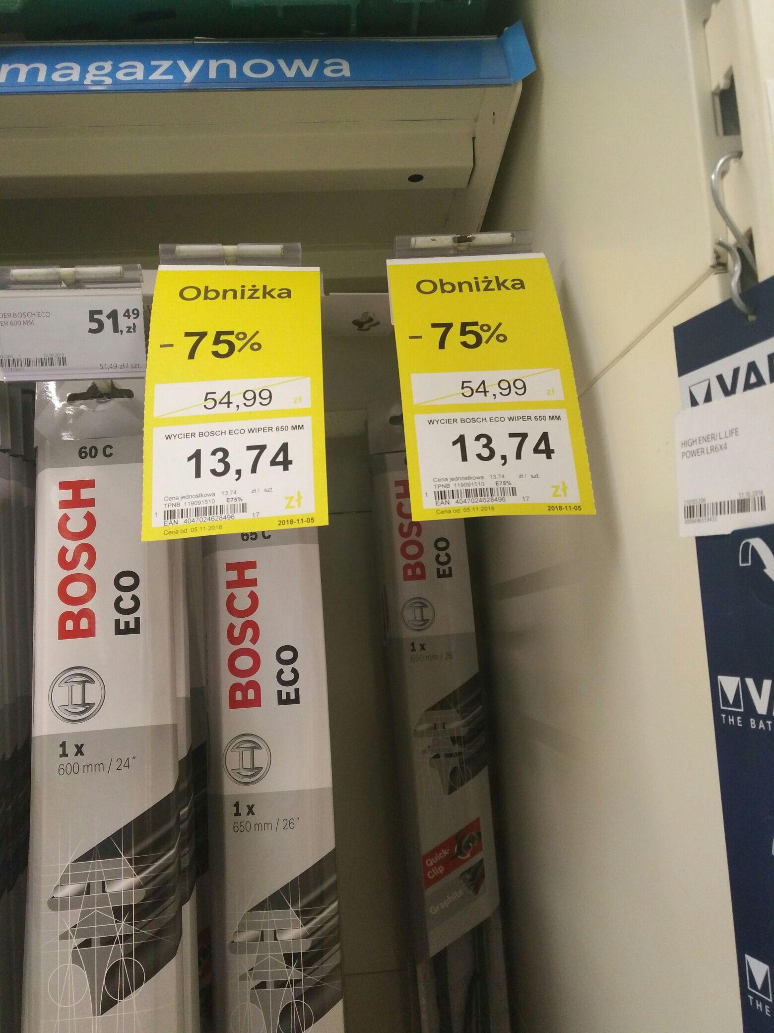 Wycieraczki Bosch Eco Wiper 650mm