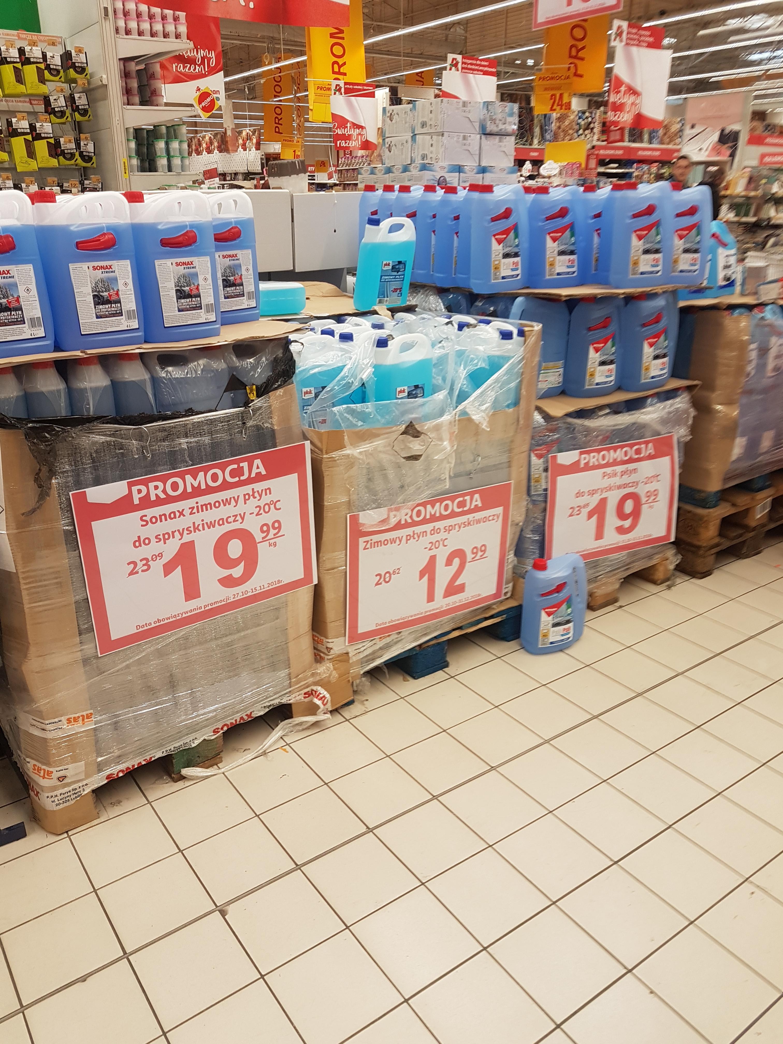 Auchan Komorniki Płyn do spryskiwaczy zimowy 5l Autoland PsikPsik  Plak 12.99