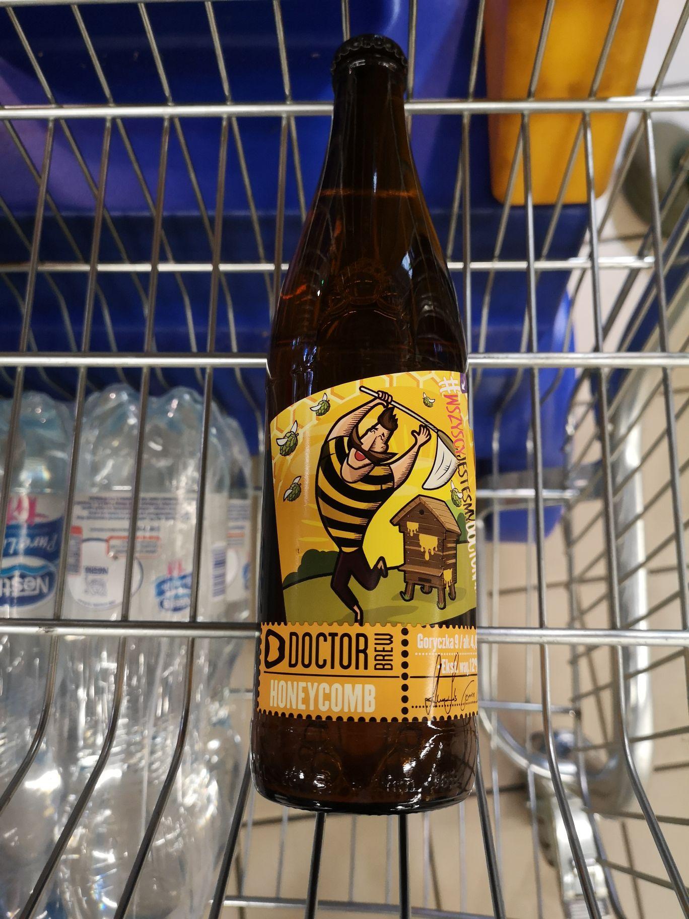 Piwo Doctor brew honeycomb Lublin eleclerc