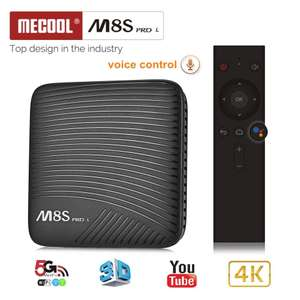 Mecool M8S PRO L 3/16GB with Voice Remote Control