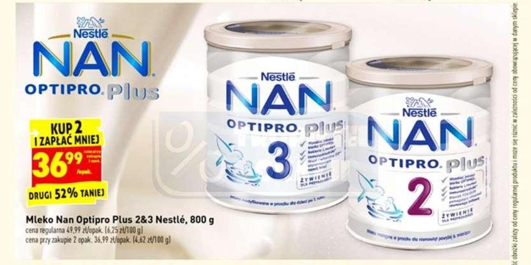 NAN Optipro PLUS 2&3 po 36.99zł