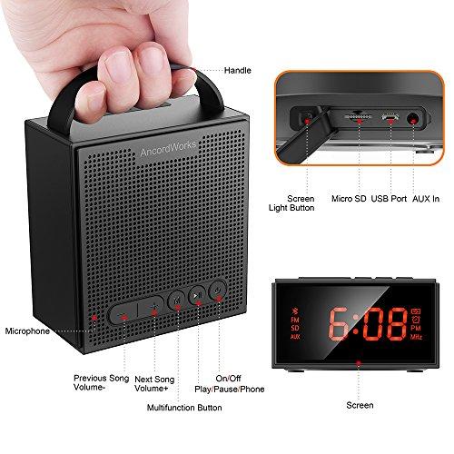 Głośnik Bluetooth 8W AncordWorks FM (Creative Chrono?) @Amazon
