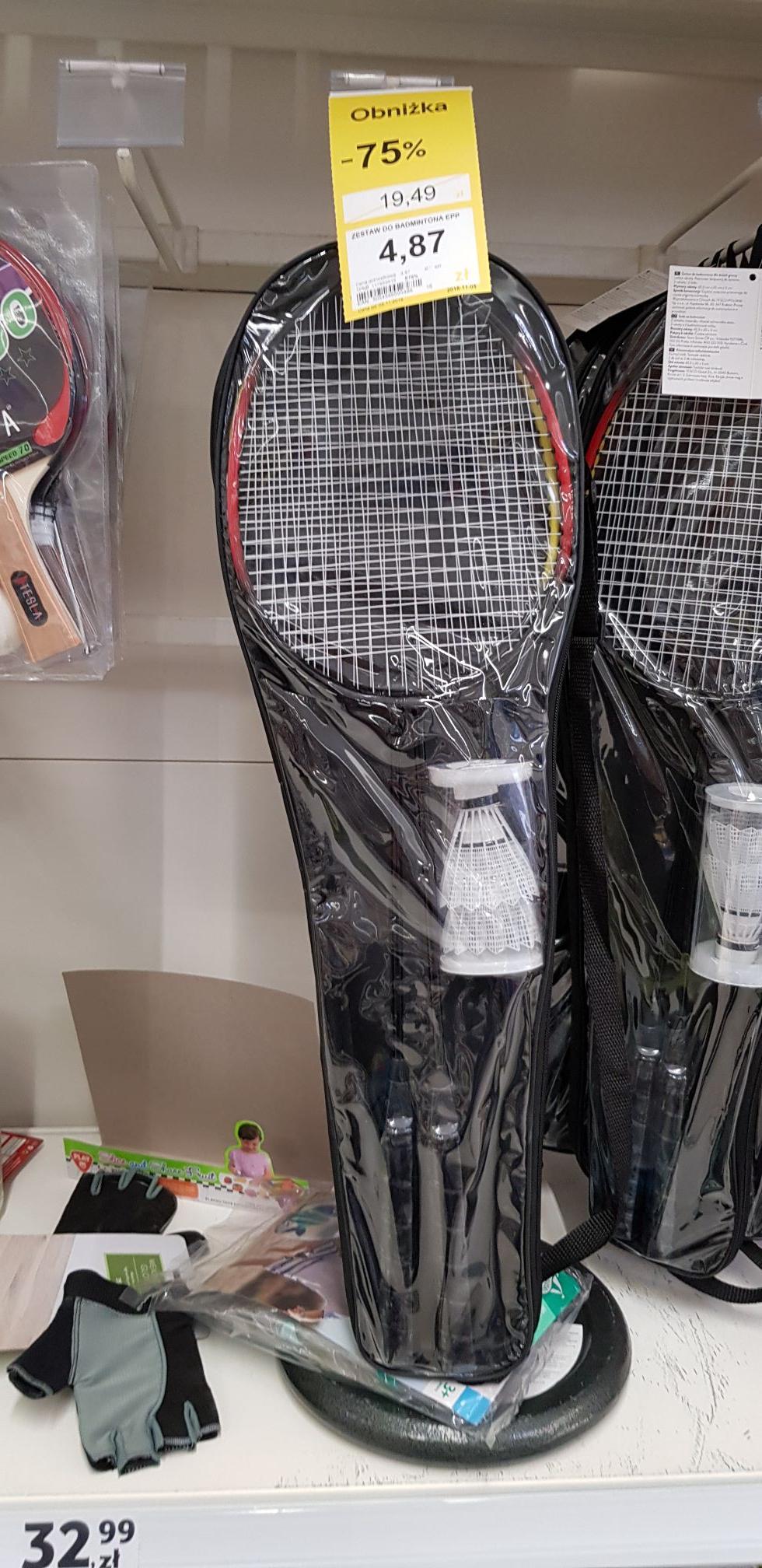 Zestaw do  badmintona tesco serbska Poznań
