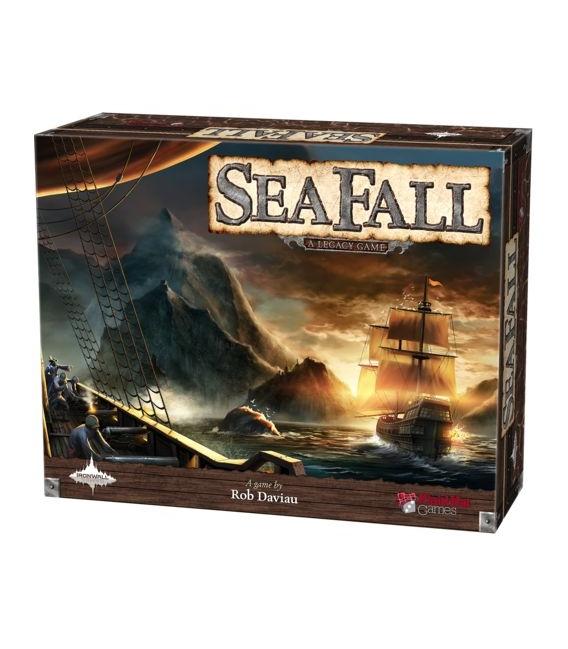 Gra planszowa przygodowa Seafall