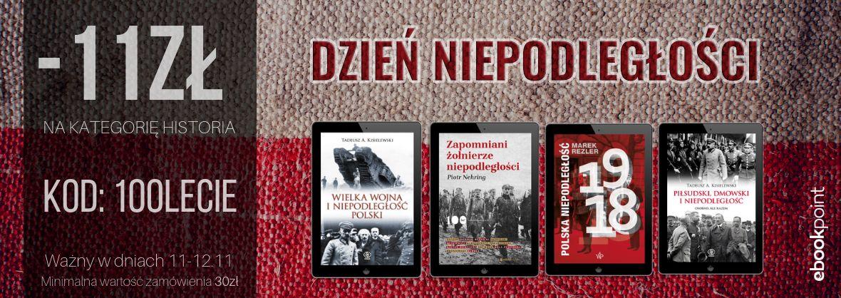 Rabat 11 zł i inne promocje na ebooki z kategorii historia @ ebookpoint