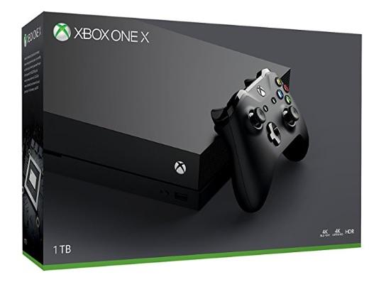 Konsola Xbox one X - włoski amazon.