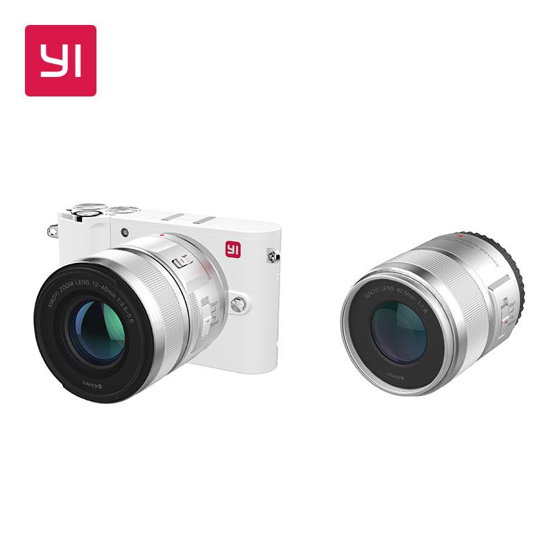 Xiaomi Yi M1 + dwa obiektywy