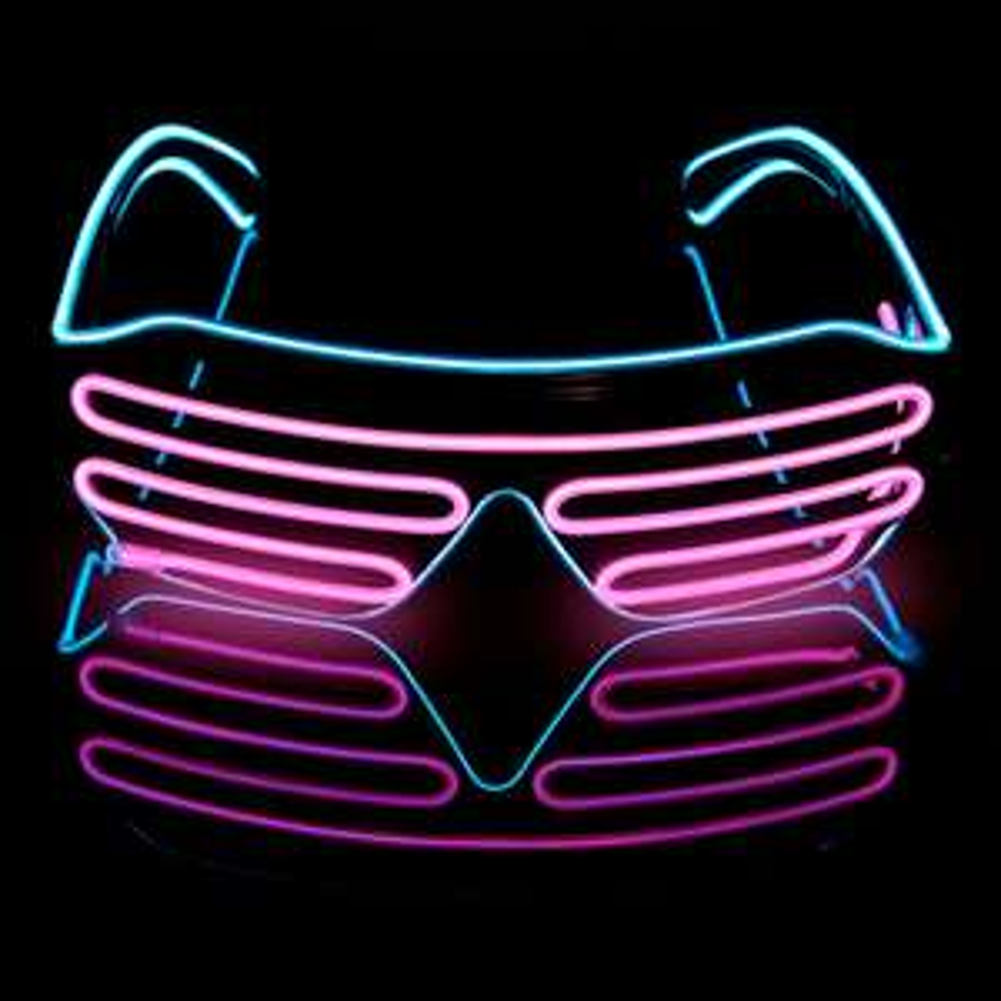 Futurystyczne okulary LED $3,88