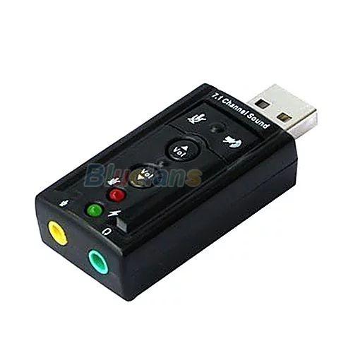 Zewnetrzna Karta Dzwiekowa USB 2.0