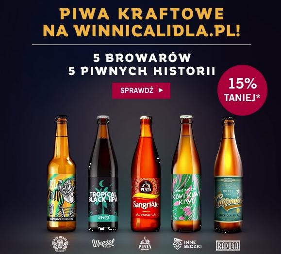 Piwa kraftowe -15%