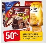 Ciasta gotowe Dr Oetker, Delecta -50% taniej E.Leclerc Gdańsk Przymorze
