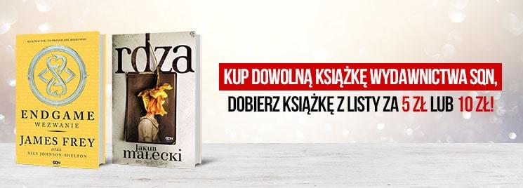 Książki za 5zł i 10zł przy zakupie tytułu wydawnictwa SQN (od 3zł) @ Tania Książka