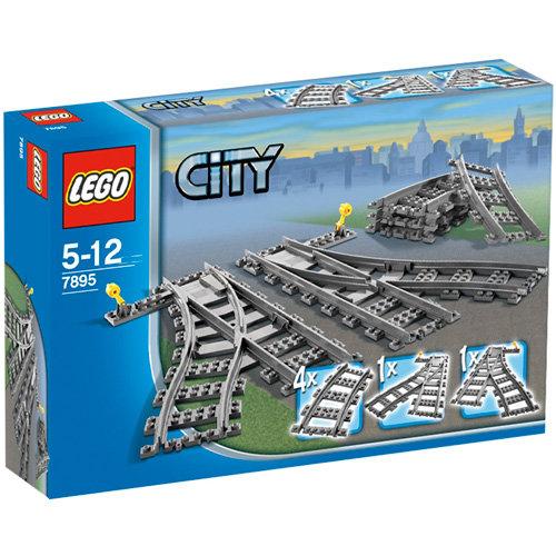 LEGO City, Zwrotnica kolejowa 7895, EMPIK.com za pół ceny