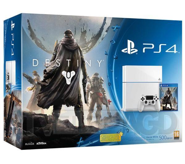 biała konsola Playstation 4 (500GB) z grą DESTINY w zestawie za 1699zł @ Euro