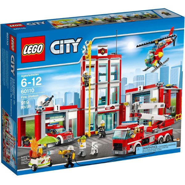 LEGO City Remiza strażacka 60110 @ empik