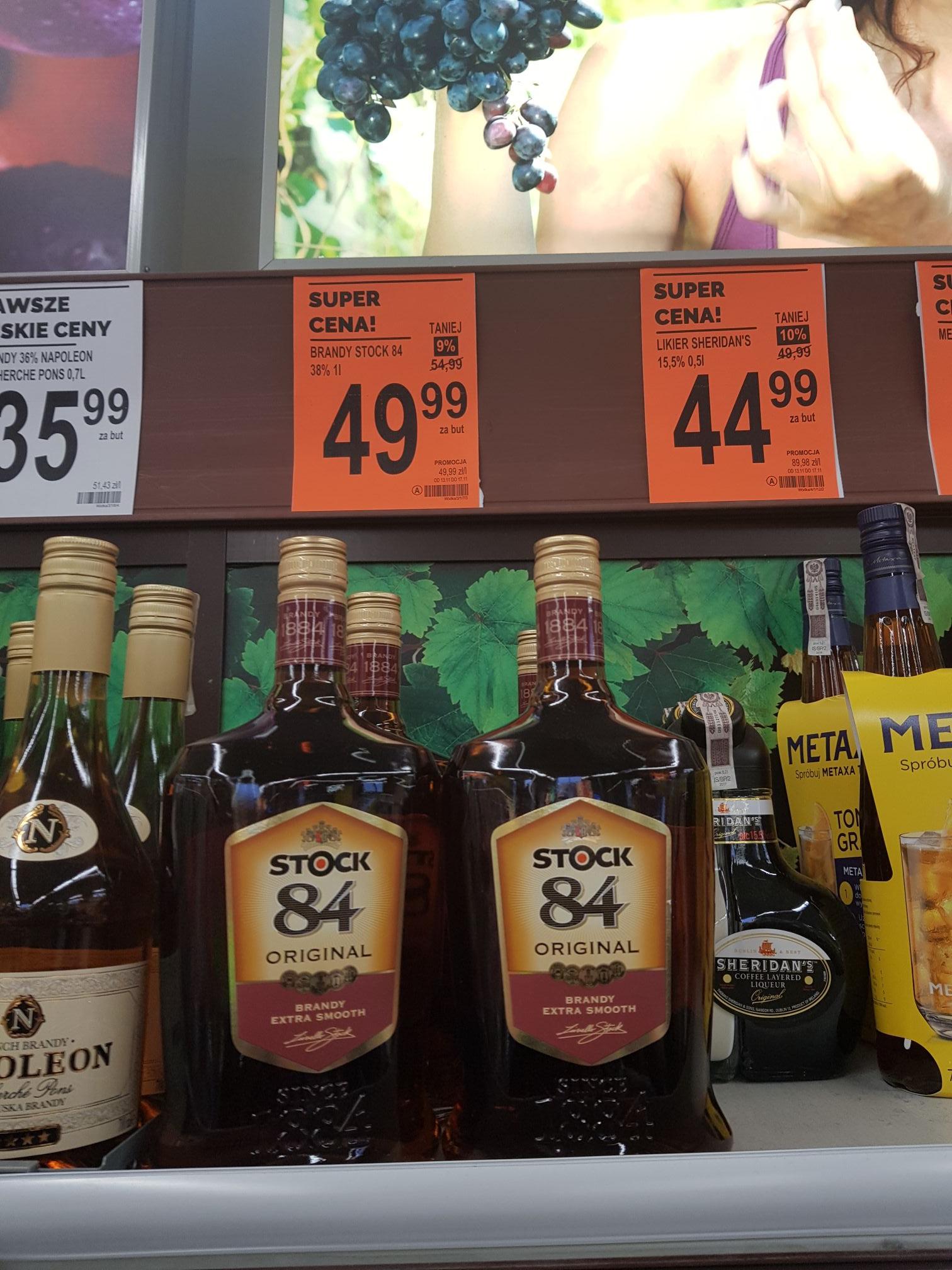 Stock 84 Brandy 1L. Biedronka