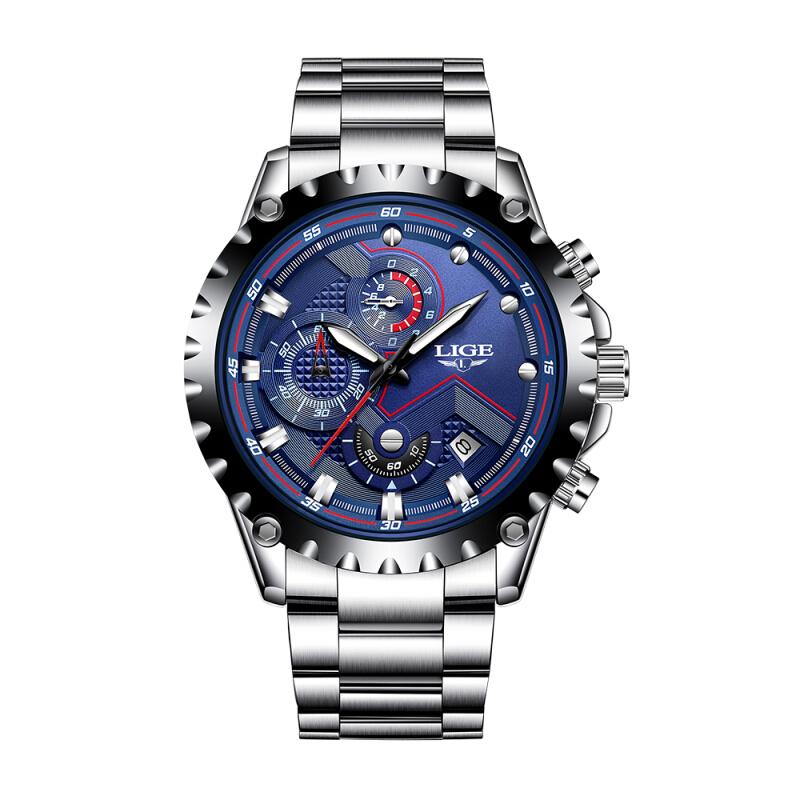 Gustowny zegarek męski Lige 9821 @joybuy