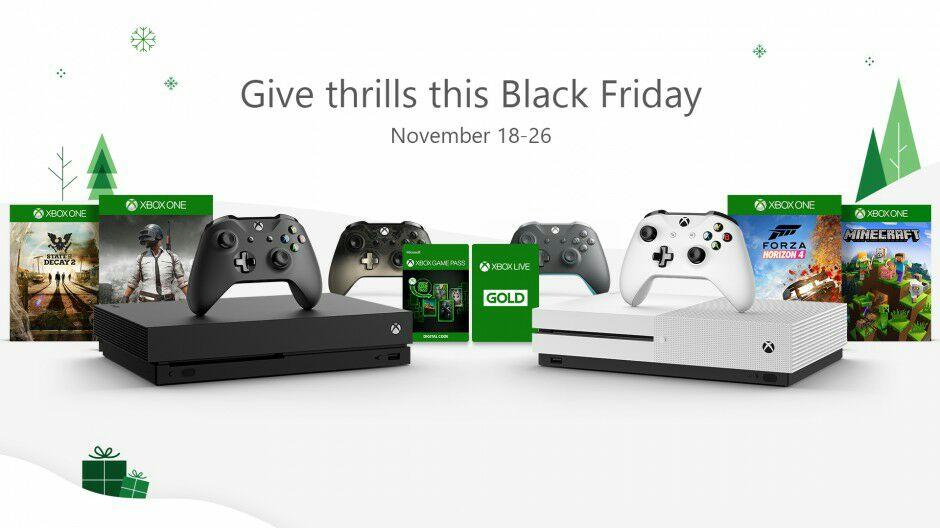 Wyprzedaż z okazji Black Friday w Xbox Store.