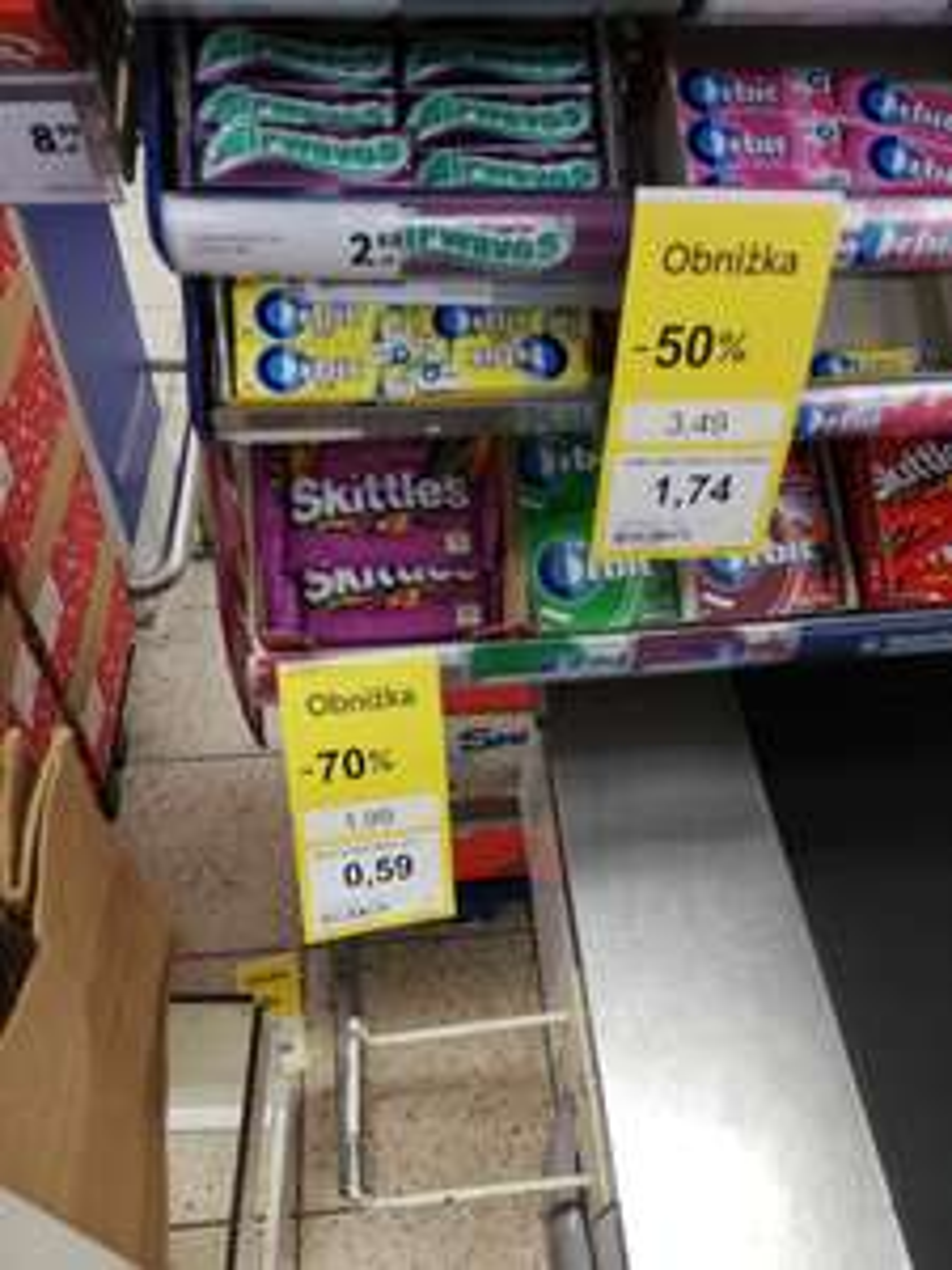 Skittles Tesco