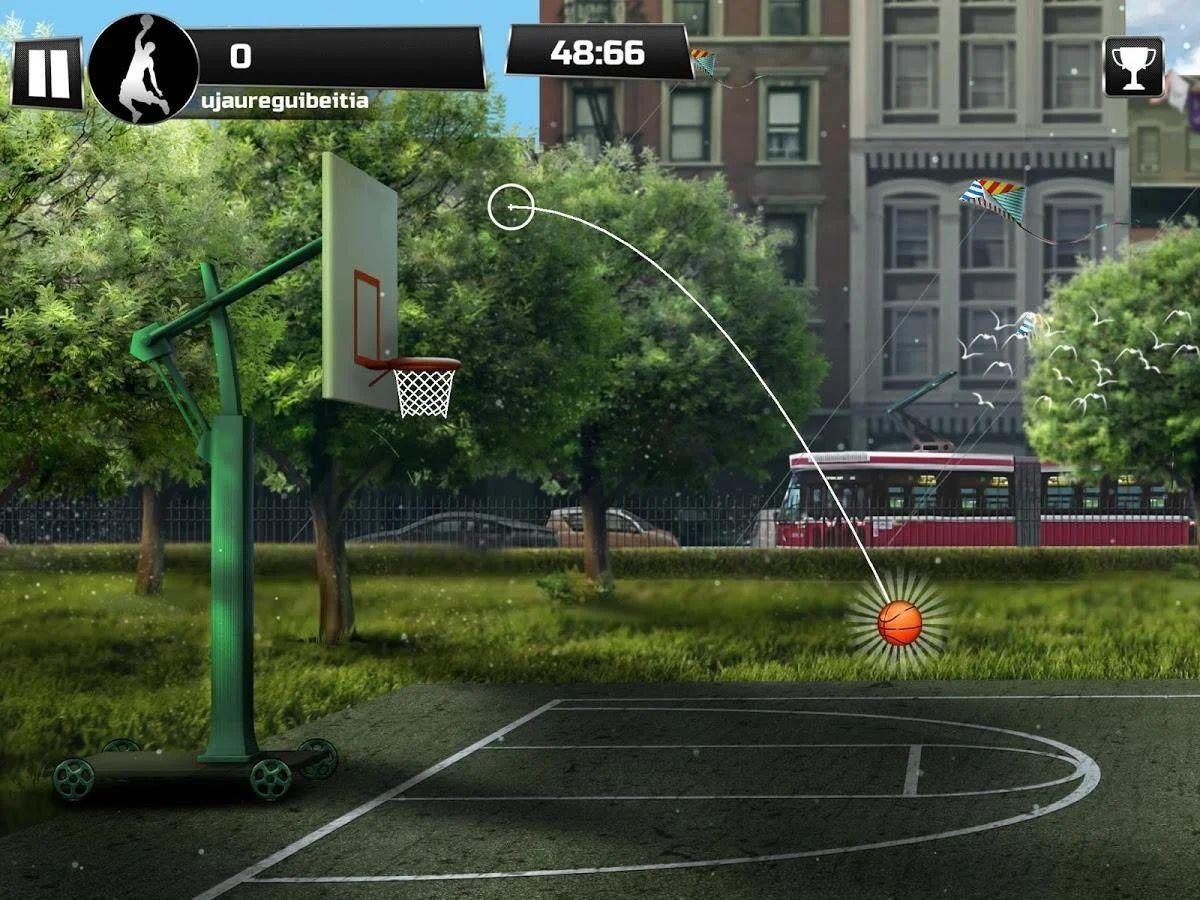 iBasket Pro - Street Basketball  [Google Play]
