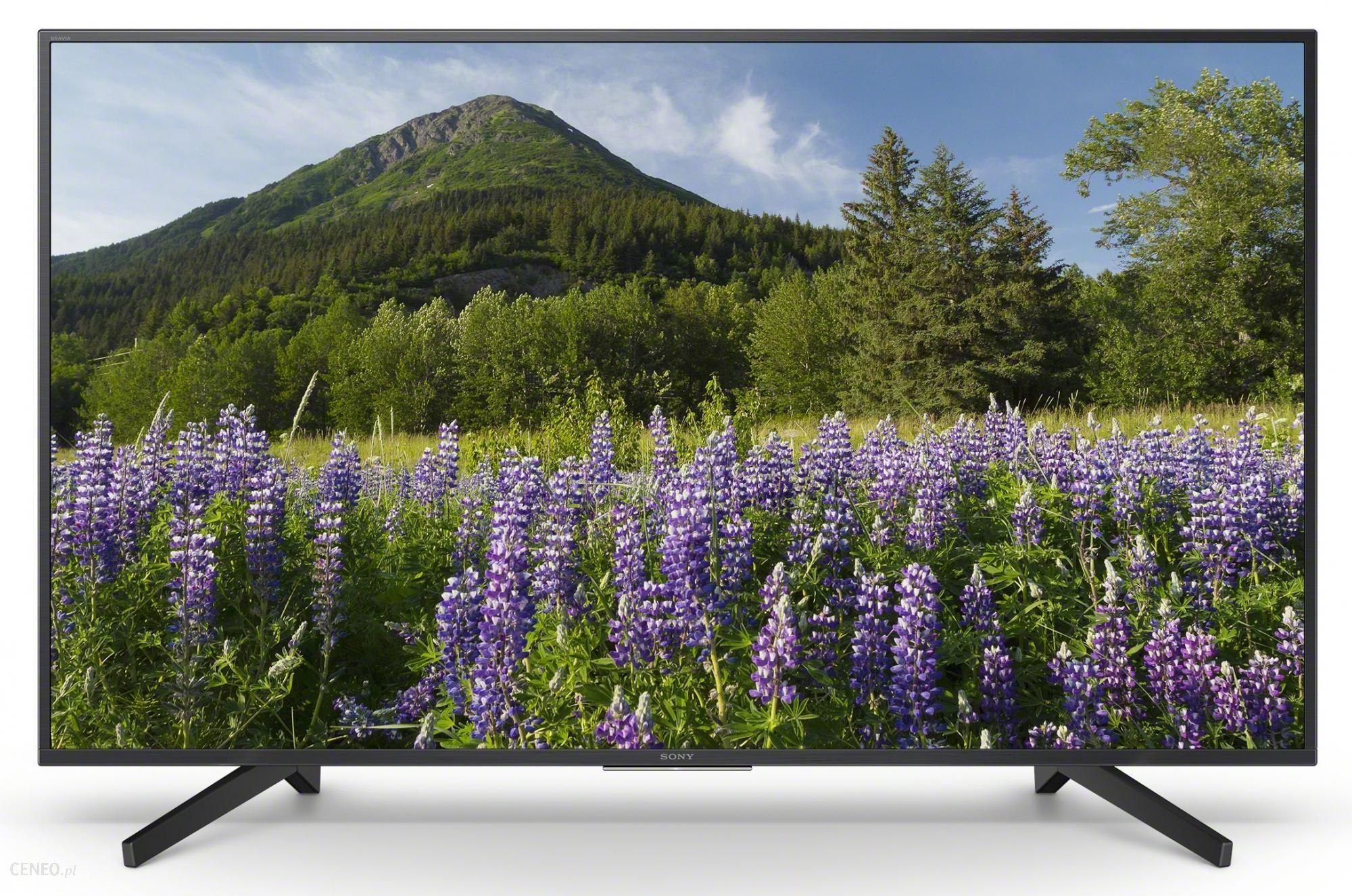 TV SONY 65 cali UHD - KD-65XF7005