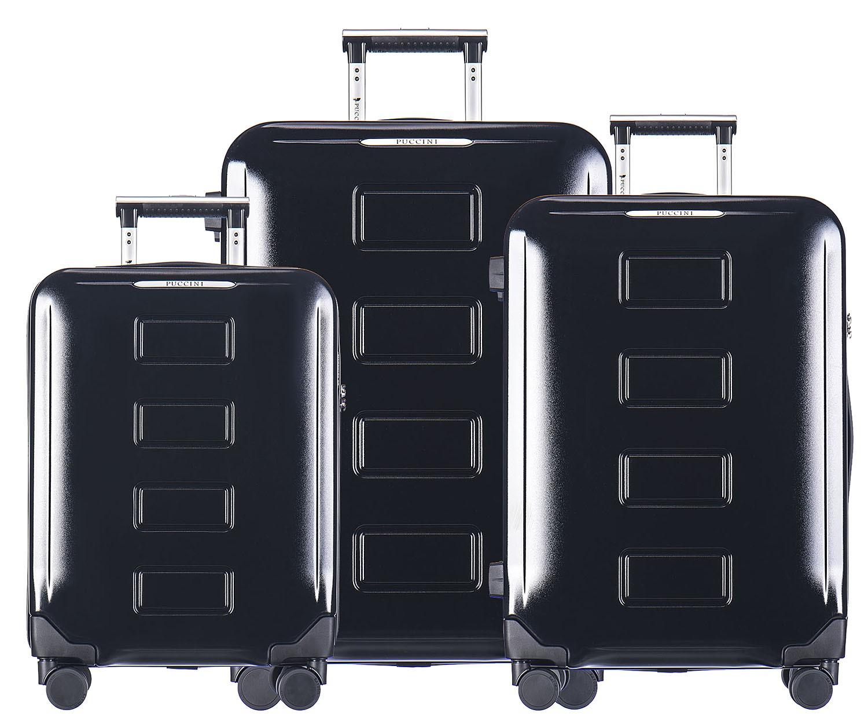 Zestaw mocnych walizek z poliwęglanu/policarbonu za niedużą cenę