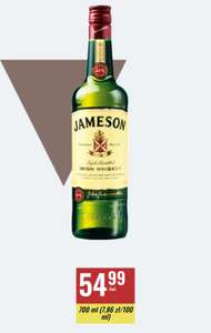 Jameson Irish Whiskey 700ml Triple Distilled