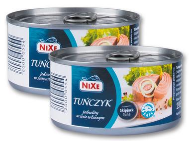 Nixe tuńczyk w puszkach (Lidl)
