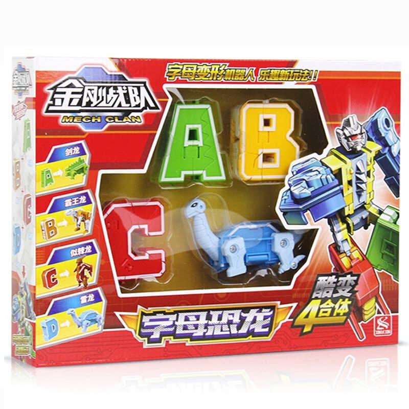 Xinle new Goody building blocks  2901 dinosaur ABCD children's building blocks