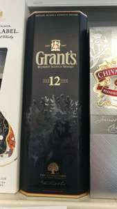GRANTS 12YO WHISKY 0,7L  Tesco Bolesławiec