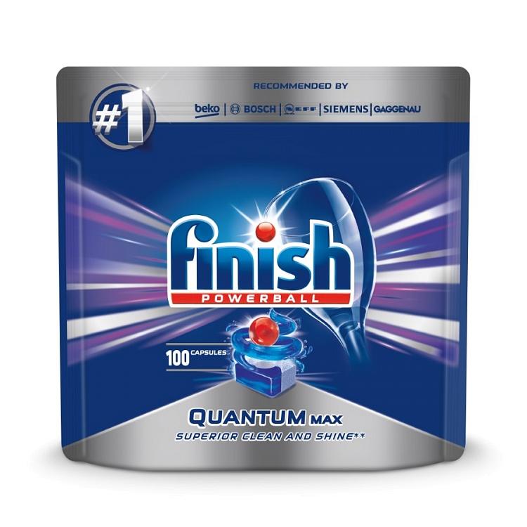 Tabletki do zmywarki Finish Quantum w najniższej cenie 40gr/szt - odbiór za darmo