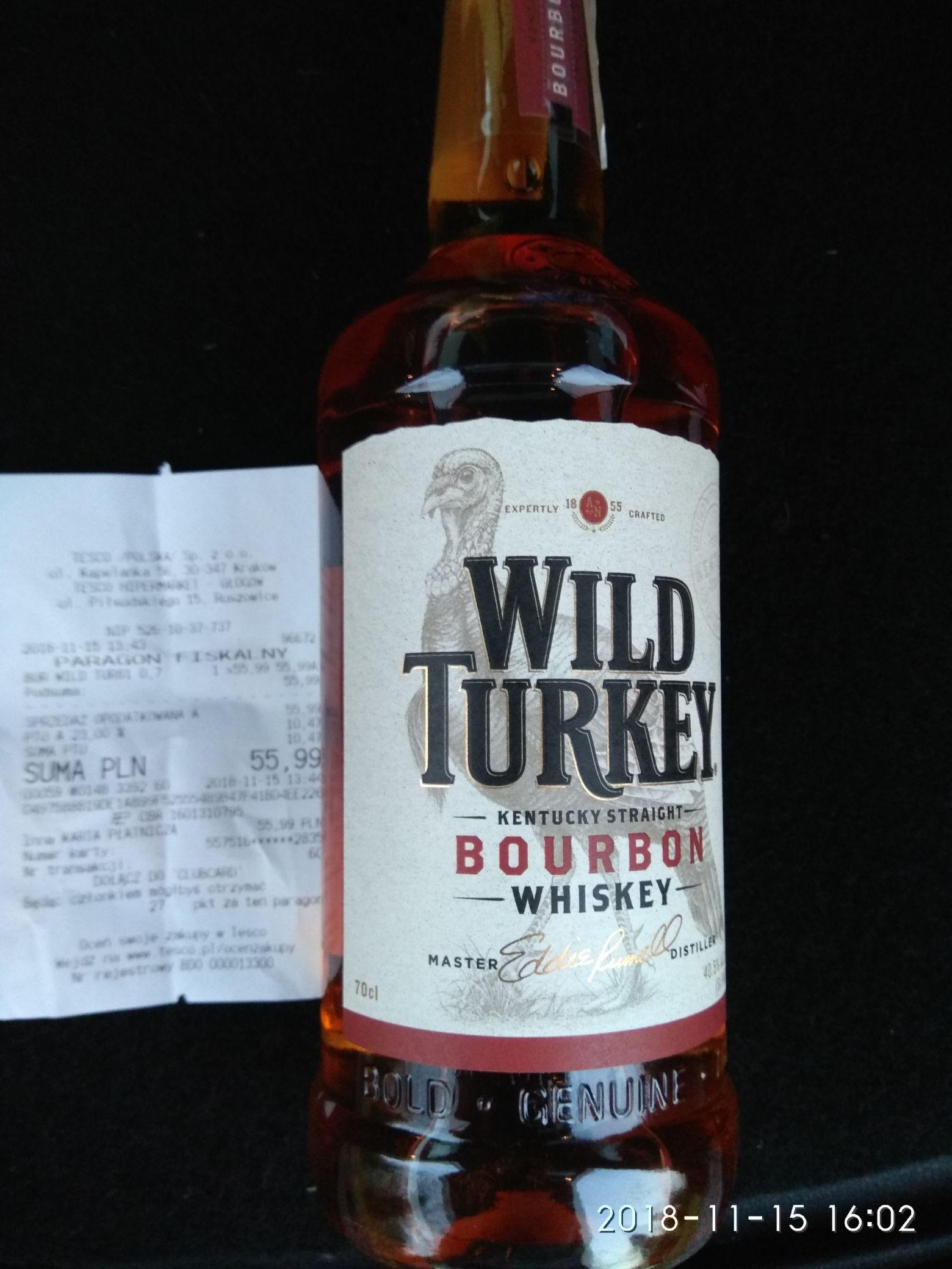 Wild Turkey 0,7l Tesco