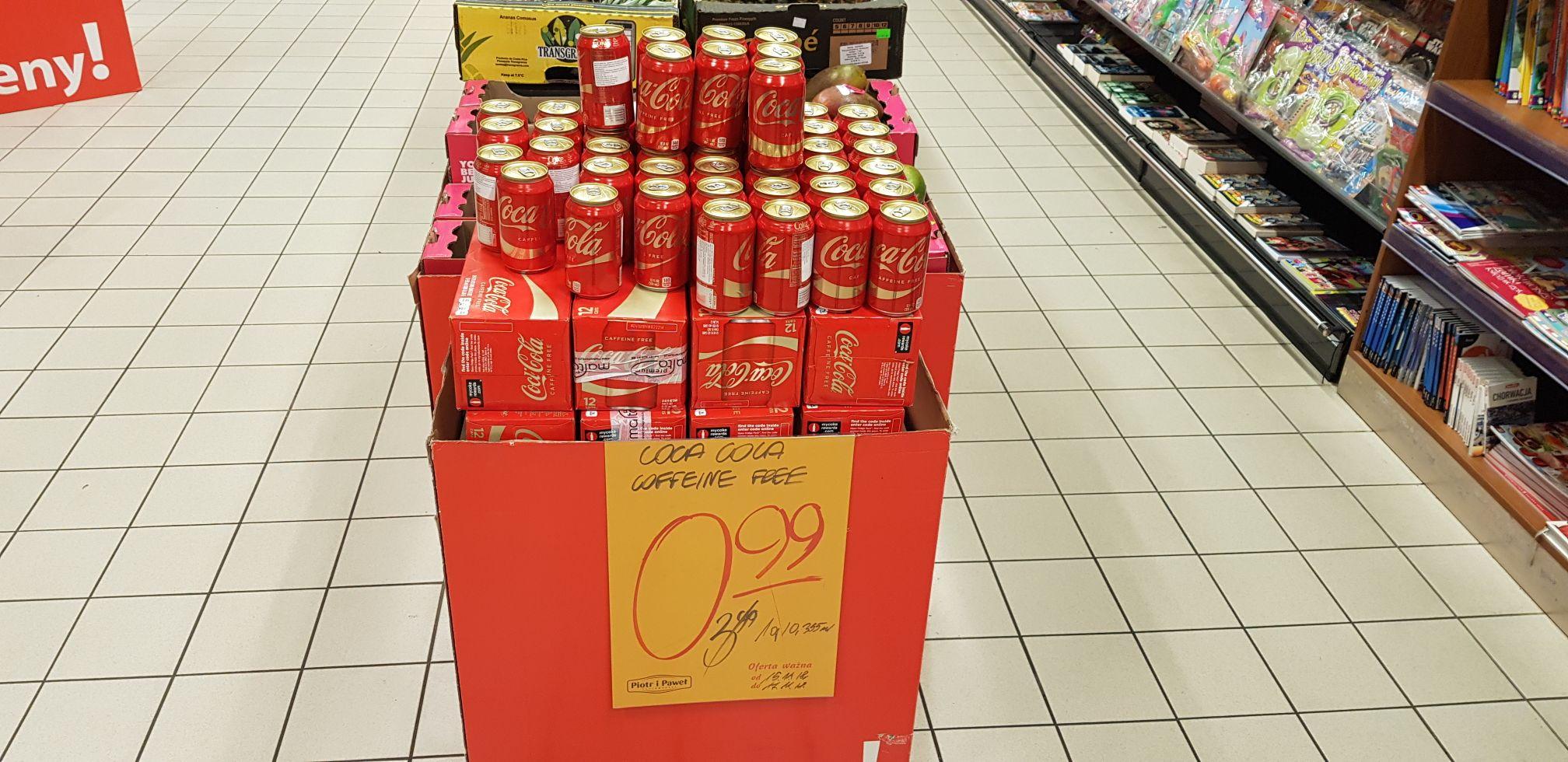 Coca cola z USA za 0.99zl w Piotrze i Pawle Avenida
