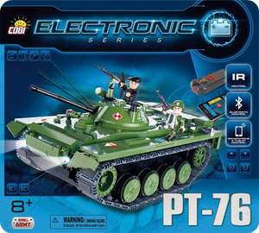 Czołg PT-76 z BT od COBI