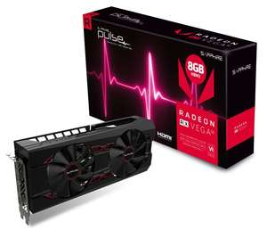 Sapphire Vega 56 Pulse + 3 gry Resident Evil2, The Division 2, DMC5 |Overclockers UK