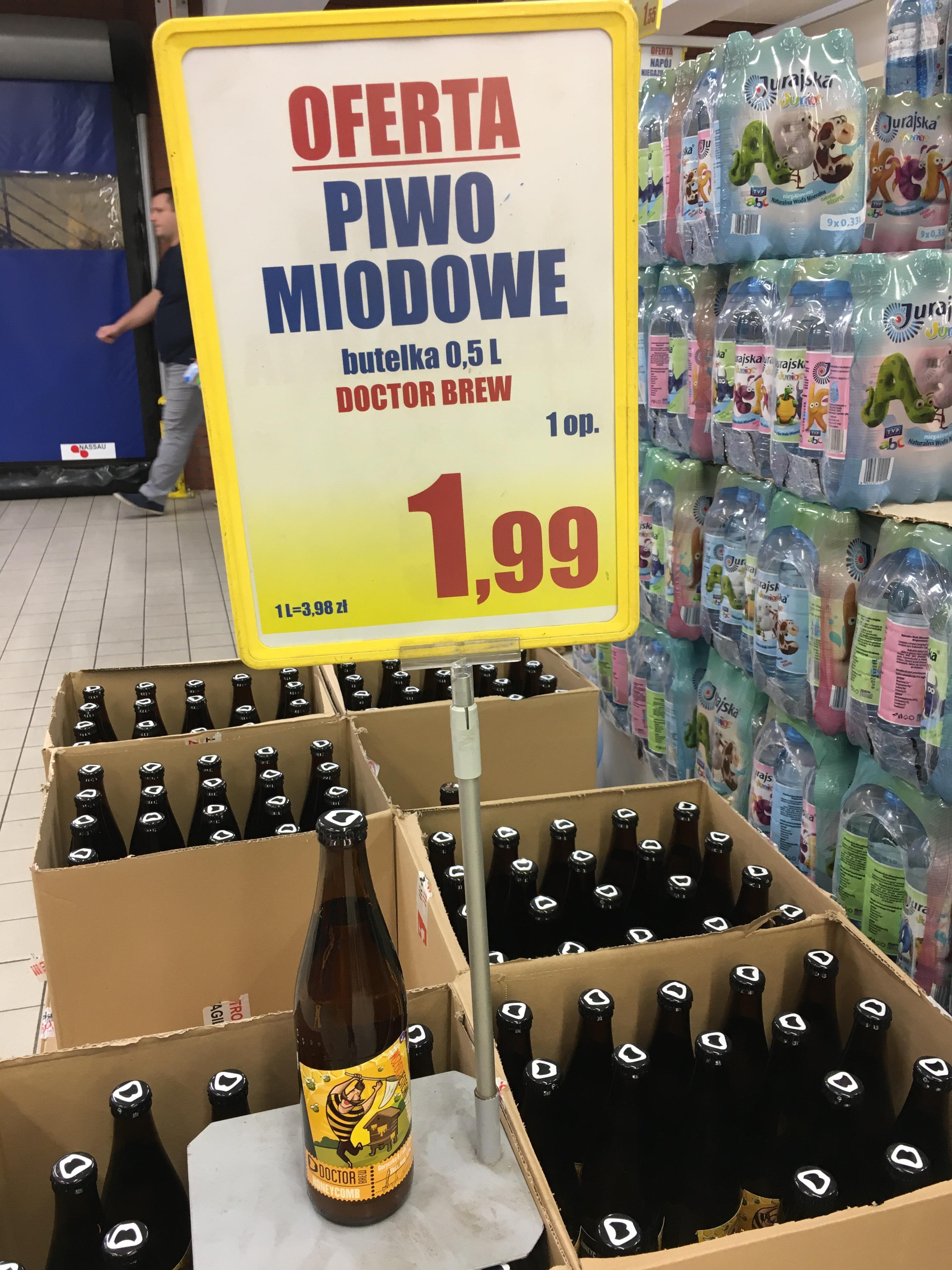 Lokalnie - Doctor Brew Piwo Miodowe - Leclerc Bielany