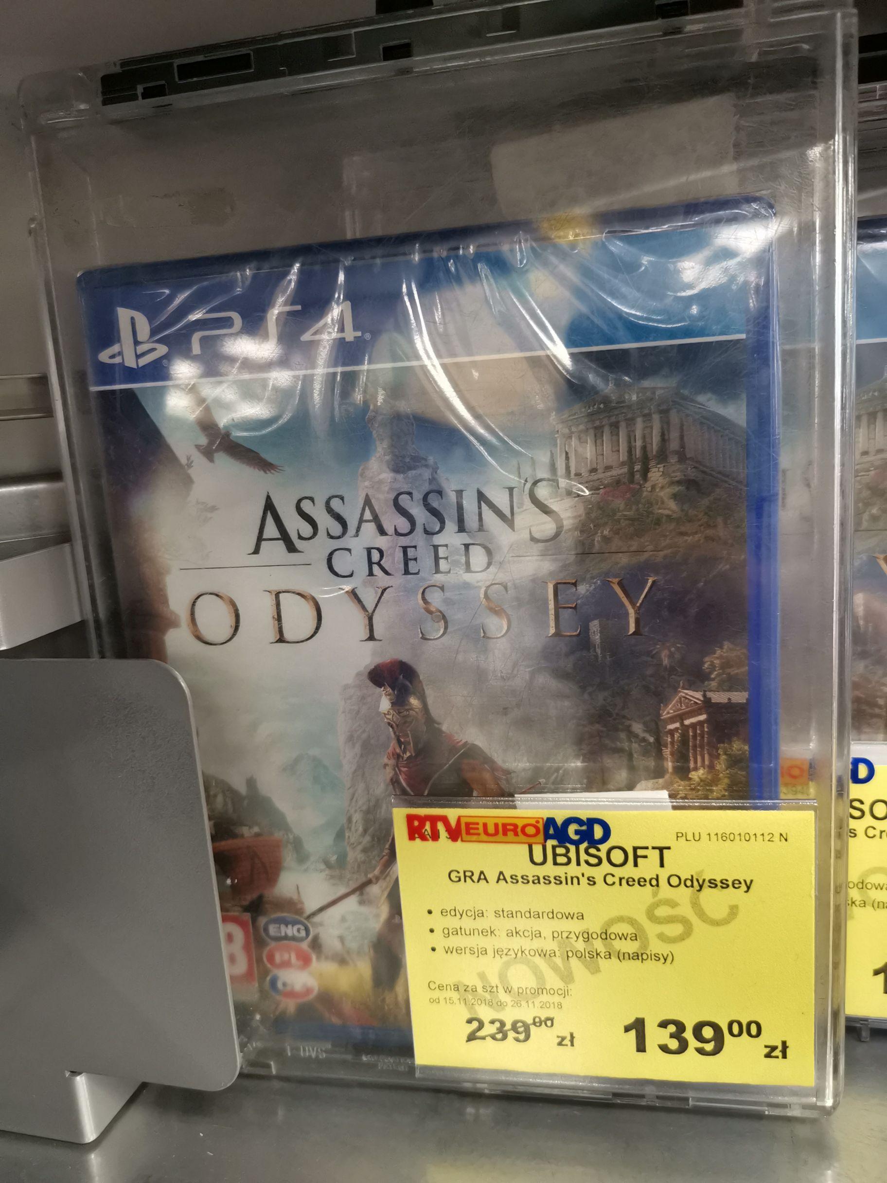 Assasins Creed Odyssey PS4 RtvEuroAgd