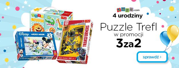 Puzzle firmy Trefl 3 w cenie 2 @ Smyk