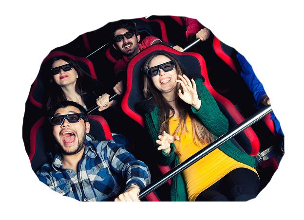 Krakowskie kino 7d promuje kupony!