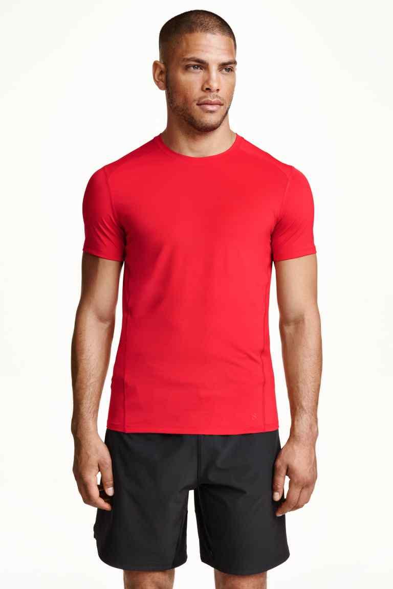 Męska koszulka treningowa za 15zł + darmowa dostawa @ H&M