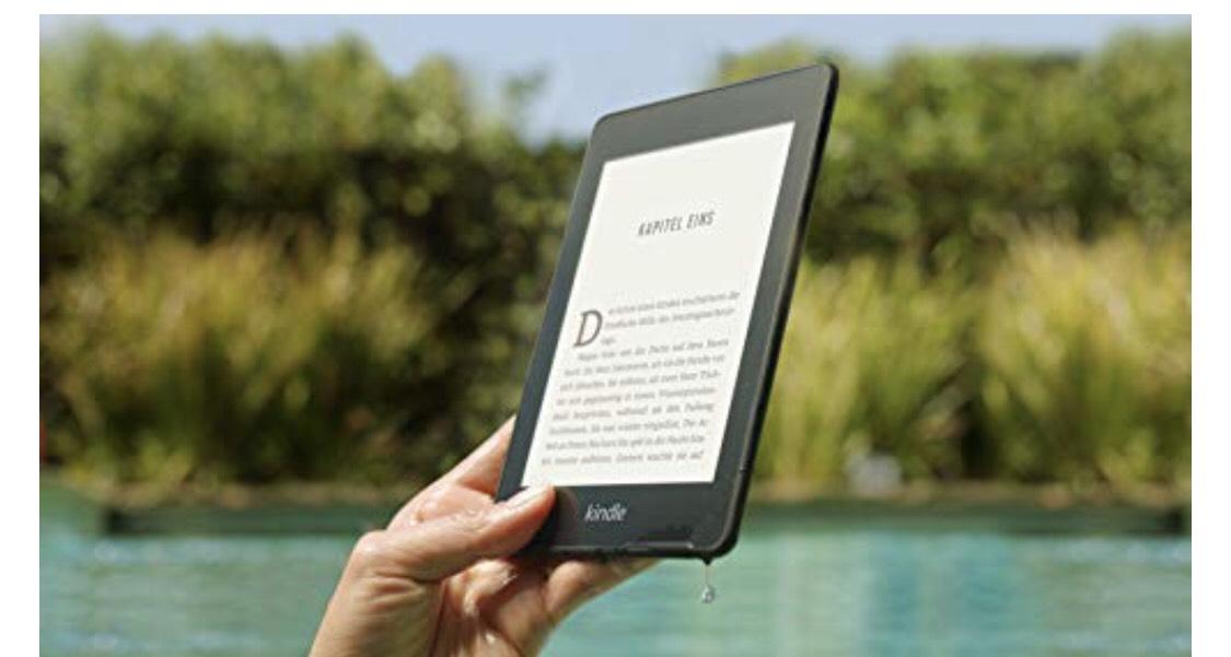 Kindle Paperwhite 4 [bez reklam], za jedyne 99 eur