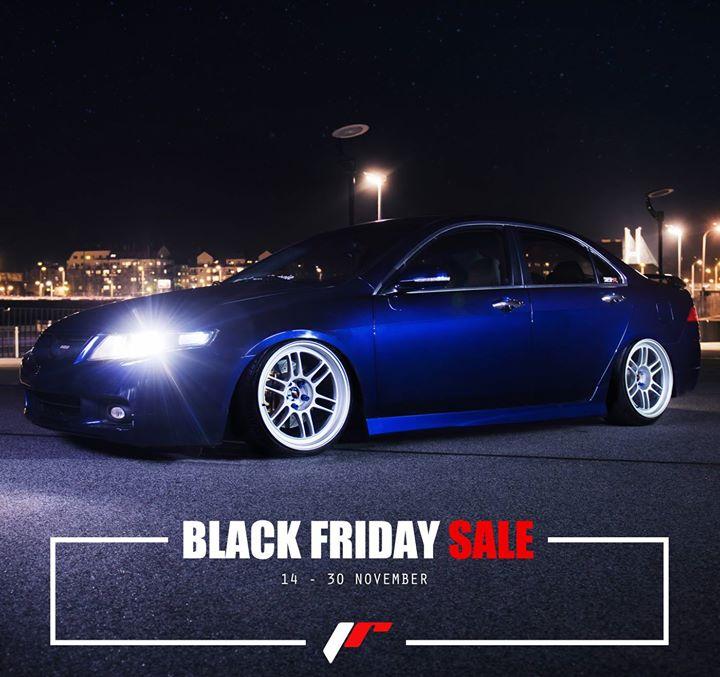 Felgi Japan Racing do -50% na wybrane modele z okazji Black Friday
