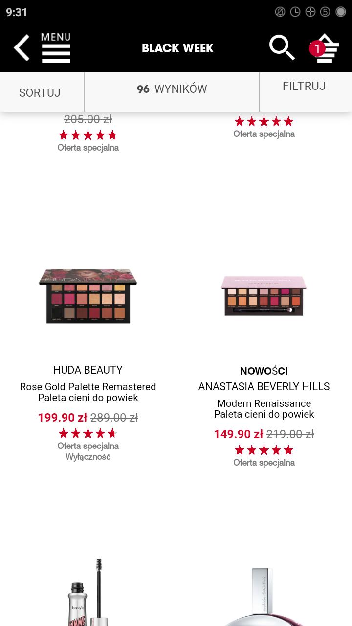 -30% na kultowe produkty w Sephora i dodatkowe - 20% na niektóre marki