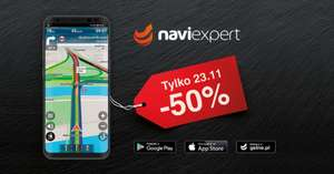 NaviExpert 50% taniej w Black Friday