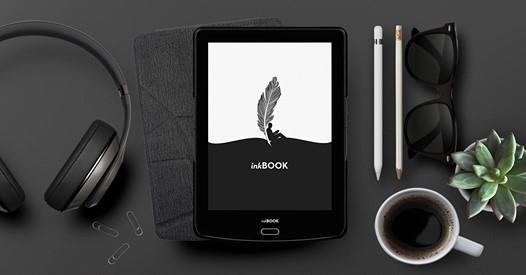 10-25% obniżki na czytniki ebook inkBooks w zestawach