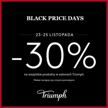 [23-25.11] Black Friday -30% na bieliznę @ Triumph