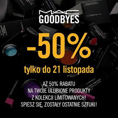 50% zniżki na wybrane produkty @ MAC Cosmetics