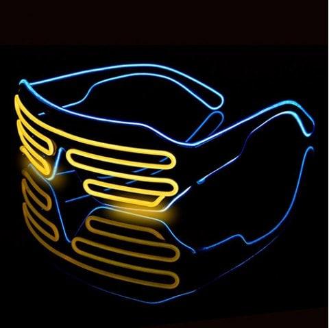 Futurystyczne okulary LED za ok. 12 zł @ Dresslily